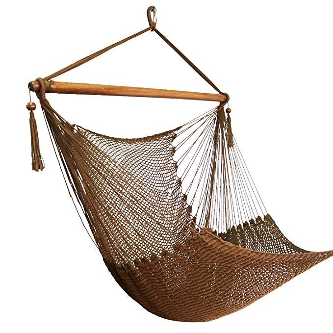 Best Sunshine Large Caribbean Hammock Hanging Chair With Footrest Large Hammock Net Chair Polyester Hanging Chair Hanging Hammock Chair Hanging Swing Chair