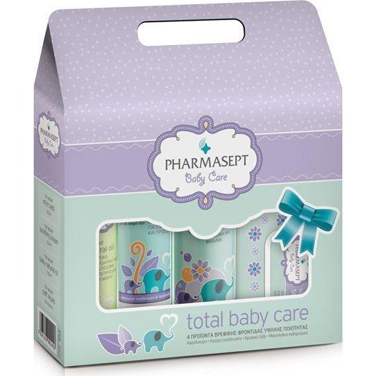 Το πακέτοTotal Baby CareτηςTol Velvet περιέχει 4 προϊόντα βρεφικής φροντίδας:  To set περιλαμβάνει:   Tol Velvet Mild Bath 300ml - Απαλό παιδικόαφρόλουτρογια σώμα & μαλλιά- Χωρίς σαπούνι Tol Velvet Soothing Cream 150ml...