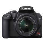 Canon Rebel XS 10.1MP Digital SLR Camera with EF-S 18-55mm f/3.5-5.6 IS Lens (Black) (Camera)By Canon