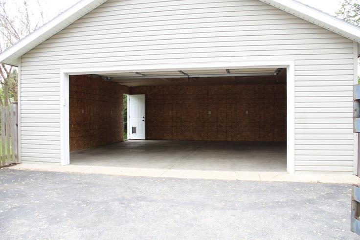 Detached two car garage garage pinterest for 2 5 car garage