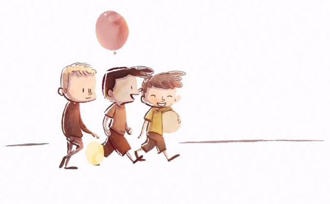 Prachtige animatie over het vasthouden van dierbare momenten in ons leven