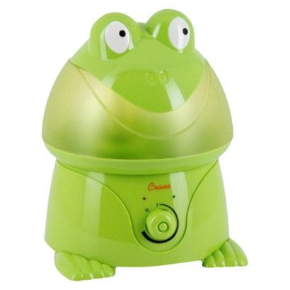 Crane Ultrasonic Cool Mist Humidifier- Frog