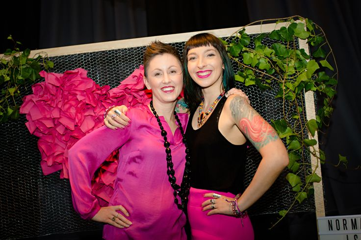 Gala Darling with Nami Clarke  Photo by Fi Mims Photography — with Nami Clarke at The Cullen.