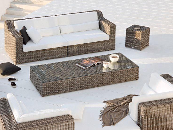 SAN DIEGO Divano Da Giardino By MANUTTI · Rattan FurnitureGarden  FurnitureFurniture DecorOutdoor ...