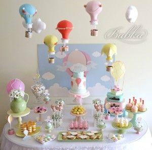 Balões de ar quente para o 1º aniversario da Maria | Babka                                                                                                                                                                                 Mais