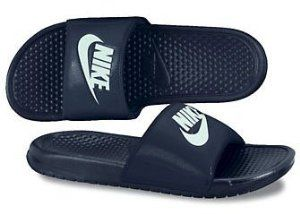 Nike Benassi JDI #343880-403 by Nike. $21.99. UPPER: One-piece synthetic upper. MIDSOLE: Injected Phylon midsole. OUTSOLE: Injected Phylon outsole. One piece injected Phylon sports massage slide for the ultimate in light weight comfort at an incredible price