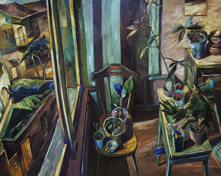 Papageorgiu Andrea  'Studio'  2012  Oil on canvas