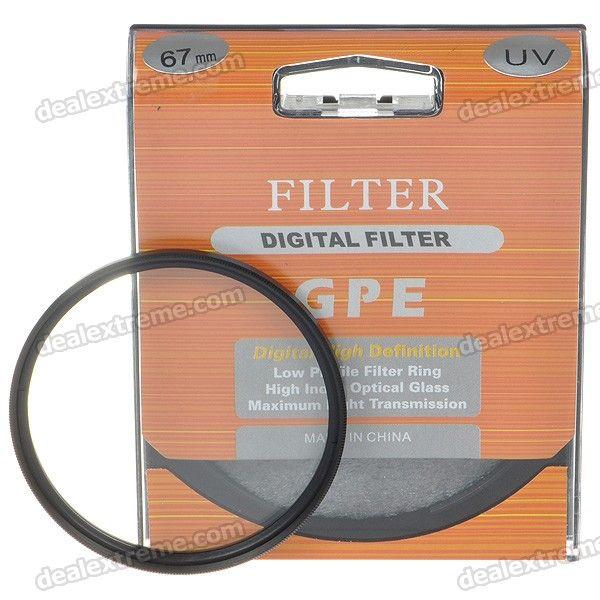 UV Filter for SLR/DSLR Cameras (67mm)