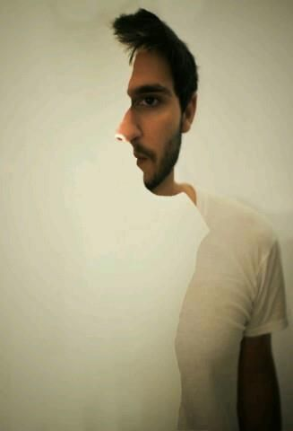 Check out this optical illusion - do you see the change in perspective?!