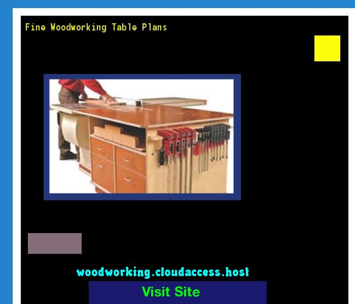 Fine Woodworking Table Plans 081311 - Woodworking Plans and Projects!
