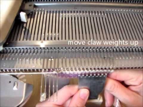 Knitting Machine Tutorial: Short Rows - YouTube