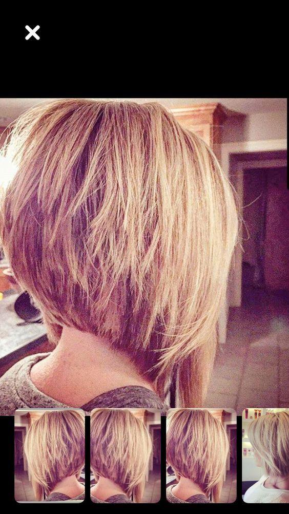 Coole kurze gestapelte Bob-Frisuren, die Sie lieben werden
