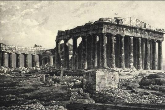 Parthenon, 1839