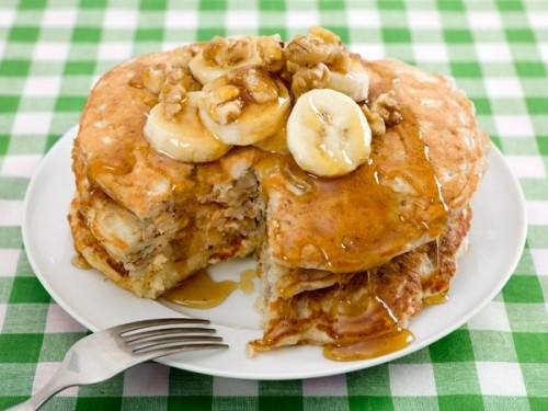 Banana nut pancakes sound scrumptious! (And also makes me think of ...