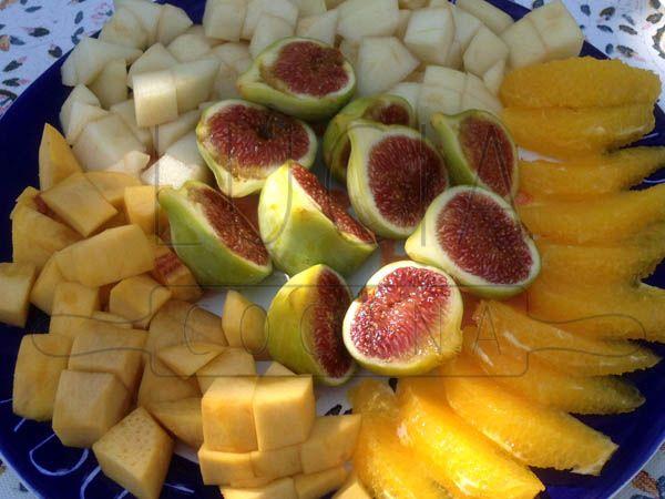 Platos de fruta LUCIAcocina http://luciacocinabogota.blogspot.com/