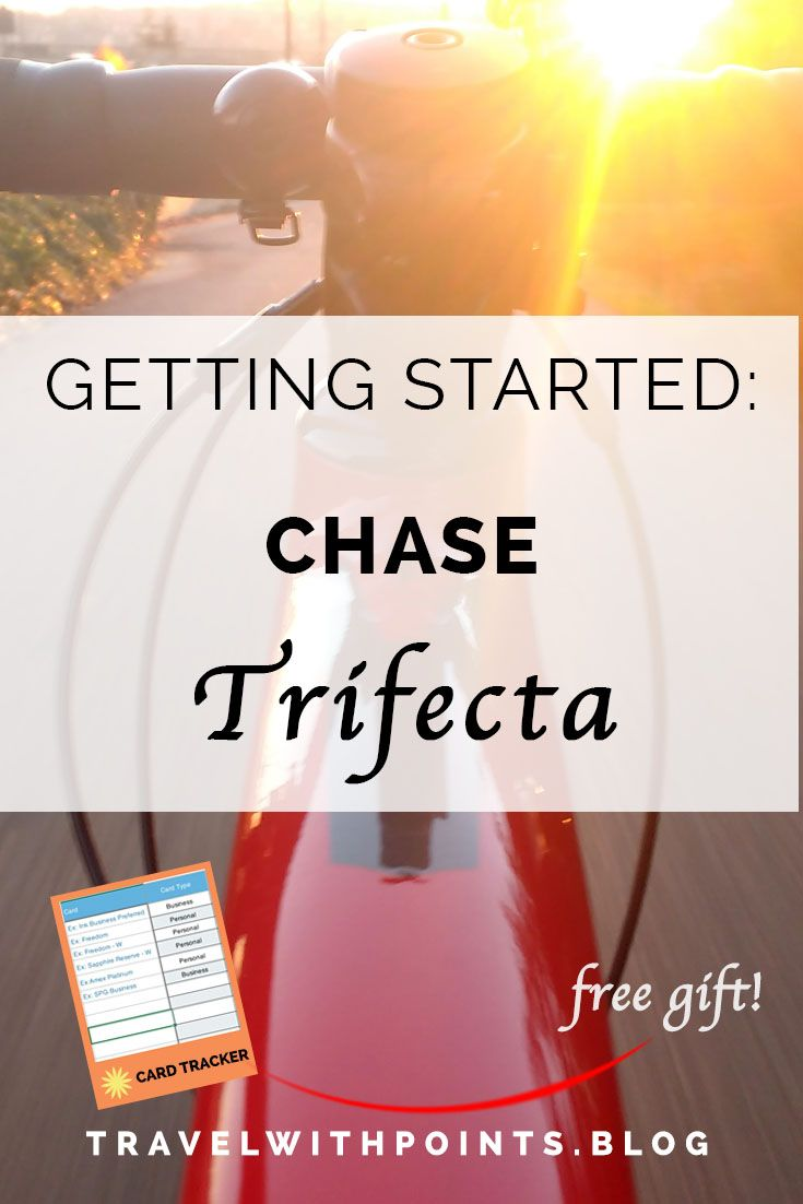 The Chase Only Strategy Chase Trifecta Travel With Points Travel Cards Credit Card Points Trifecta