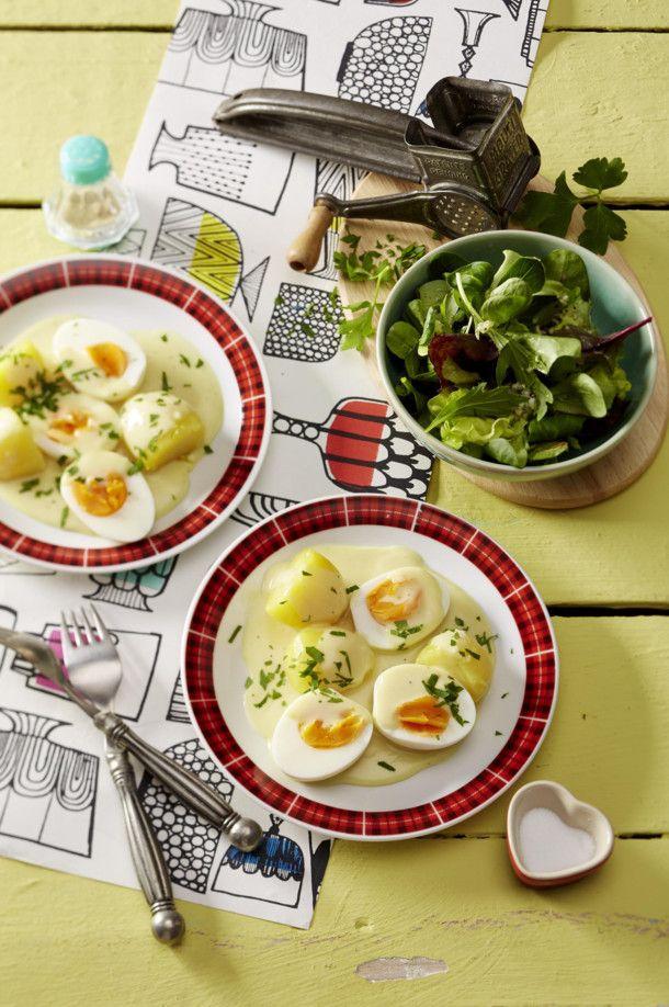 kartoffeln und eier mit senfso e rezepte suchen. Black Bedroom Furniture Sets. Home Design Ideas