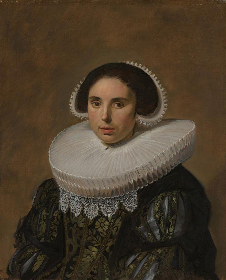 Hals, Frans, Portrait of a Woman, possibly Sara Wolphaerts van Diemen, Second Wife of Nicolaes Hasselaer, ca. 1635, oil on canvas, 79.5 cm x 66.5 cm, Rijksmuseum, Amsterdam