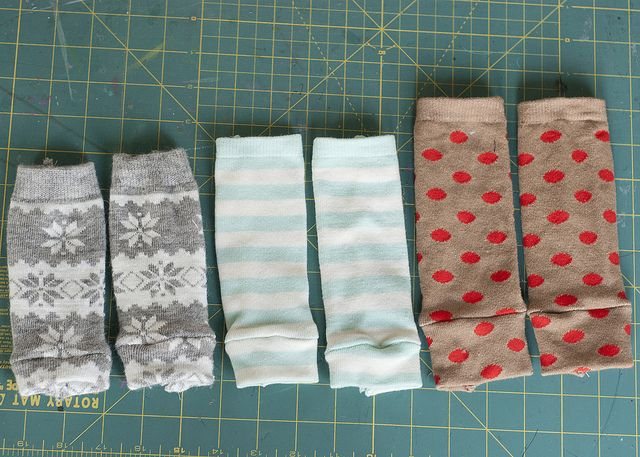 How to make NEWBORN baby leg warmers from regular adult socks. @Amy Lyons Lyons Lyons Lyons Lyons Lyons Bartizal Harper