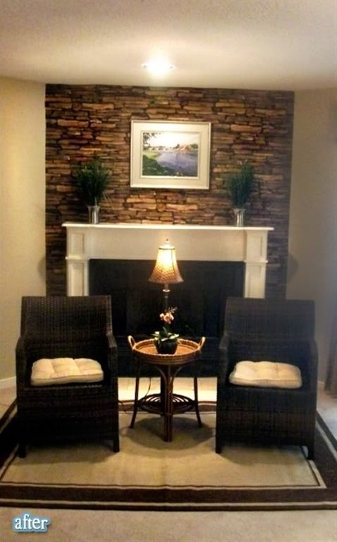 18 Best Fireplace Images On Pinterest Stacked Stone