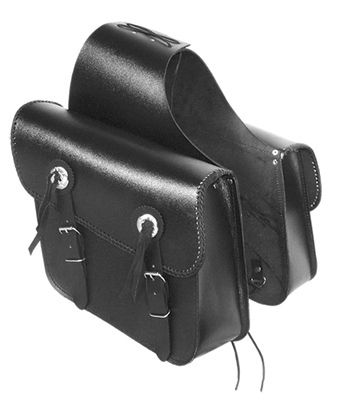 These Leather Saddlebags Are Made From Split Leather Which Is The Thick Under Part Of The Top Grain Leather. Great For Couple Of Years Of Use. Not Water Proof But Water Resistant. We Recommend You Using Some Waterproofing Leather Cream. No Need For Any Mounting Hardware Or Support Brackets. Just Put Under Passenger Seat Over The Rear Fender And Tie-Down To The Motorcycle Frame Using The Attached Leather Tie-Downs On Each Bag.