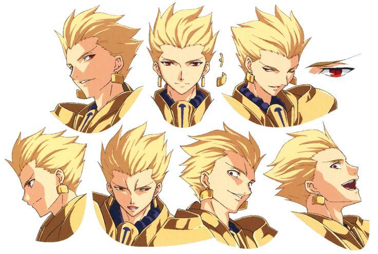 Gilgamesh_ufotable_Fate_Zero_character sheet (3448×2319)