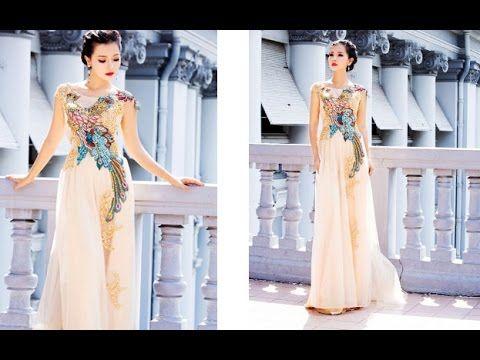 Áo Dài Đẹp Nhất  2016 - Các mẫu áo dài đẹp và mới nhất 2016