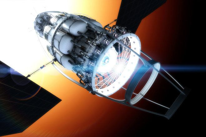 Spaceships of the Future  Credit: Adrian Mann, Hungary-based space illustrator Adrian Mann is a graphical engineer for Project Icarus, an effort to research the possibilities for interstellar travel.