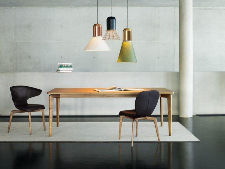 Bell Light, Sebastian Herkner 2013 White & Copper above kitchen island
