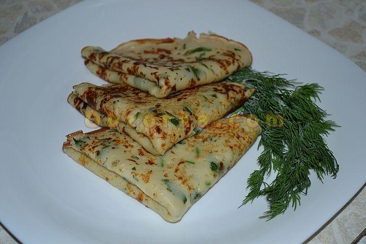 Сырные блины - на Масленицу