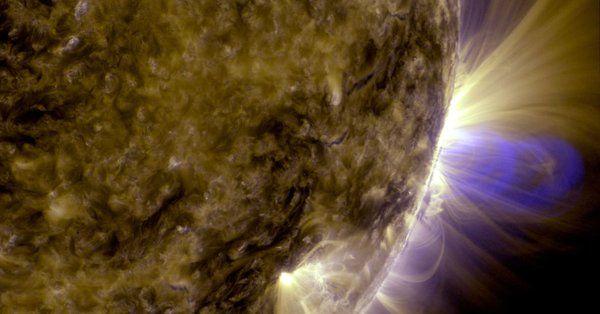 (adsbygoogle = window.adsbygoogle || []).push();   Tras las fuertes llamaradas solares de hoy se ha pronosticado que la tierra recibirá una tormenta geomagnética entre G2 y G3. A las 5:10 am EDT (0910 GMT), una llamarada solar de clase X – la categoría de tormenta de sol más...