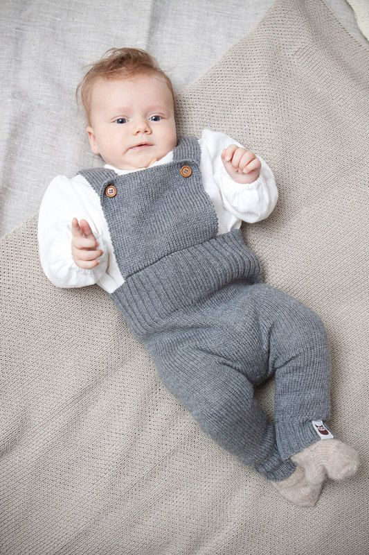 Baby clothes Knit overall Baby long romper Knitted Jumpsuit