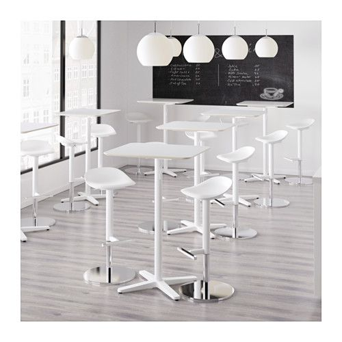 BILLSTA Bar table  - IKEA potentially use marble contact paper do make a standing desk?