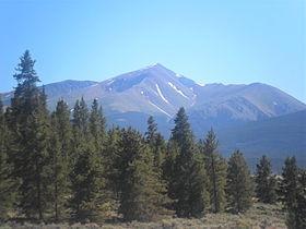 Mount Elbert 14,440ft. Hiking this beast in  July!