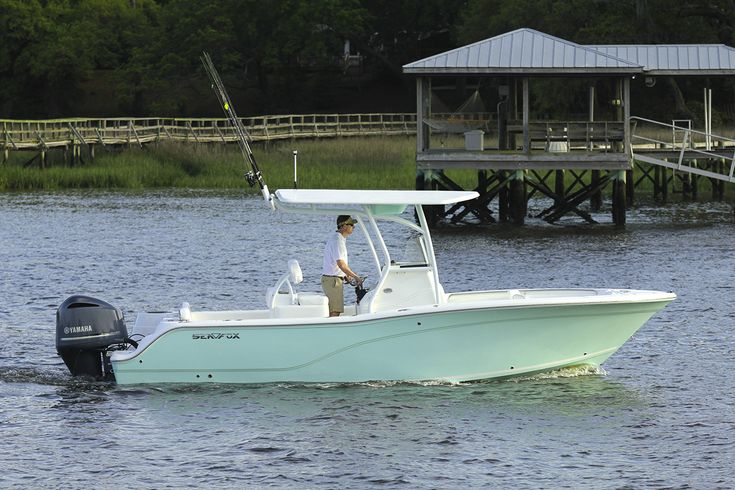 Sea Fox Boats. 24' walk around/ center console Sea Fox. My dream boat!