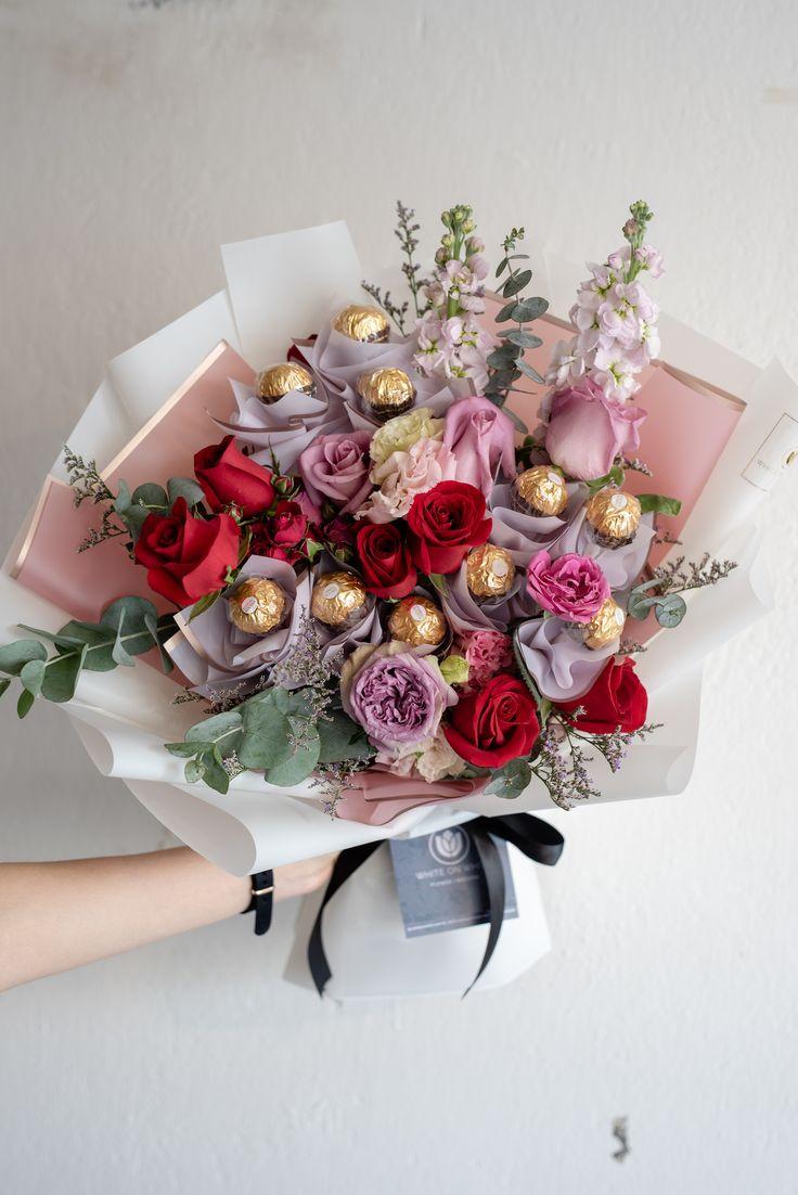 Chocolate Rose bouquet   Bouquet diy gift, Flowers bouquet