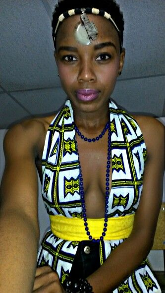 African girl//Heritage day outfit!! Fashion stylist