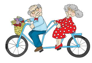 Free+Dearie+Dolls+Digi+Stamps:+As+requested.....Gramps+and+Grammy+on+a+bicycle+bu...