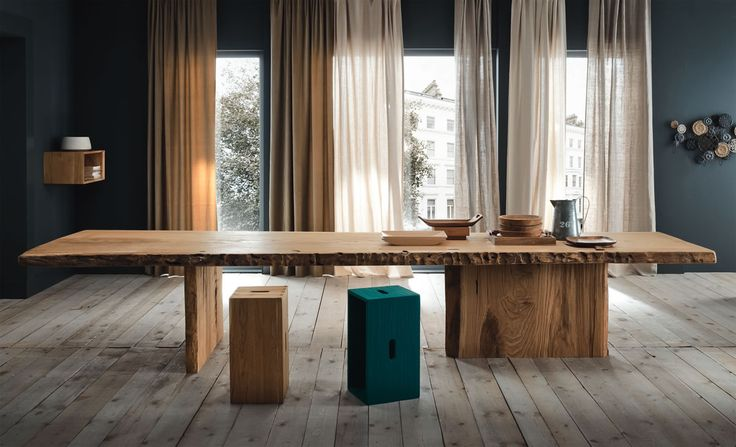 14 best images about tavoli in legno on pinterest moda for Tavoli di design in legno massello