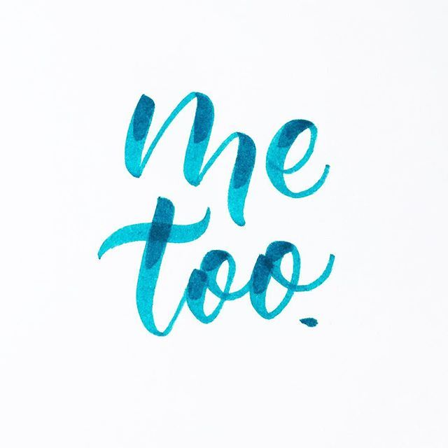 You aren't alone. #metoo