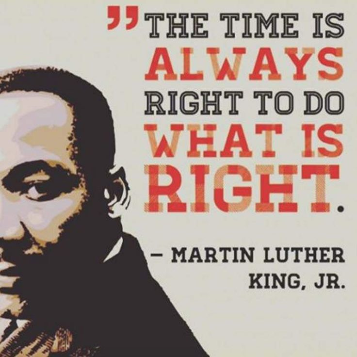 Martin Luther King Day. Celebrate this national holiday, by getting involved in your community.