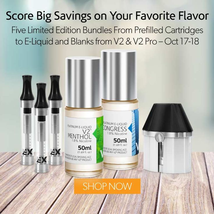 Score Big Savings on Your Favorite Flavor Five Limited Edition Bundles From Prefilled Cartridges to E-Liquid and Blanks from V2 & V2 Pro