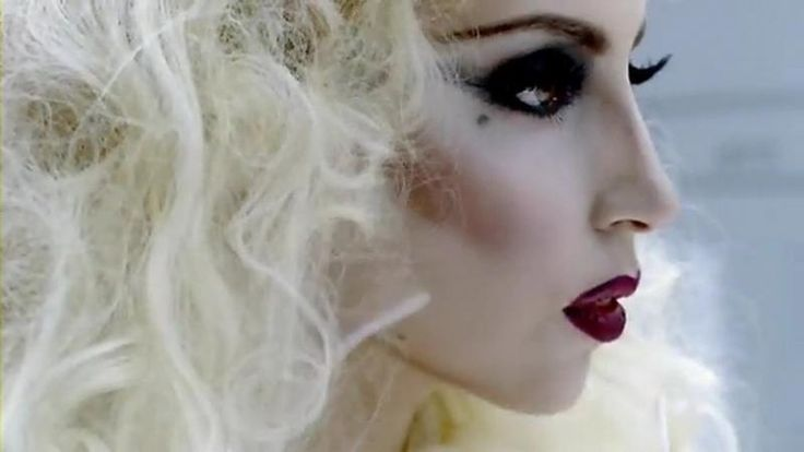 Bad Romance - her pale complexion draws your attention towards her.