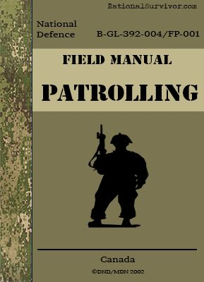 Patrolling - Canadian  - Free Digital Downloads that every prepper should have.