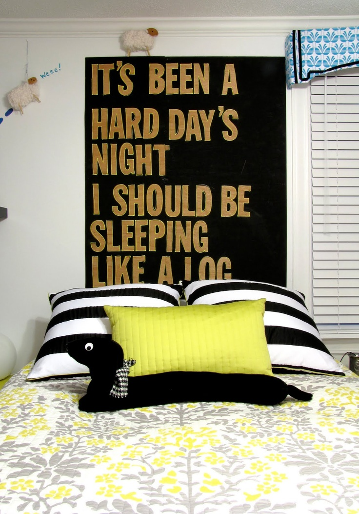 75 best sweet dreams goodnight images on pinterest good for Beatles bedroom ideas