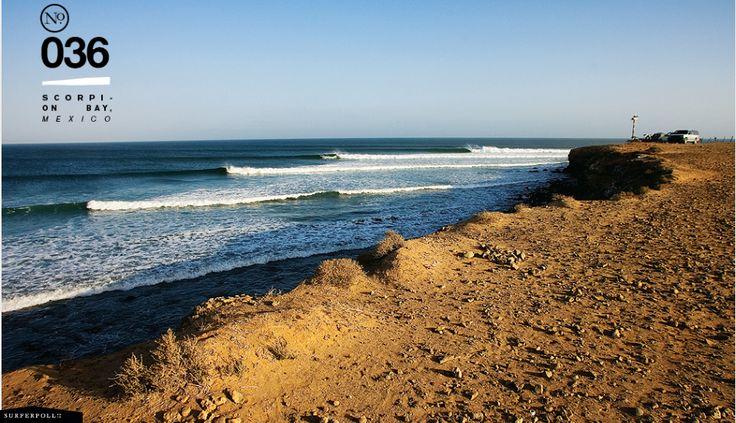 ScorpionBay San Juanico Baja California Sur, Mexico  So happening, bucket list