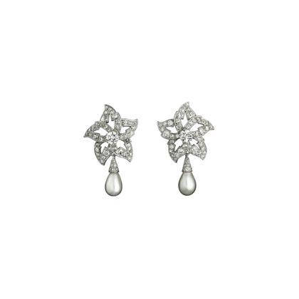 Cartier earrings - antique