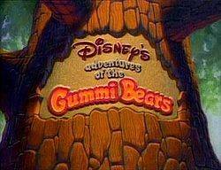 """Disney's first animated series! In medieval times, a young squire discovers a hidden race of talking teddy bears with a culture including jute fruce that makes them bounce and humans strong. First season episodes reunited """"Rocky and Bullwinkle"""" (after Bill Scott's death, """"Brainiac"""" assumed his roles). Paul Winchell voiced a wizard Gummi who spoke in spoonerisms (""""jute fruce"""" came from Bob Hope)."""