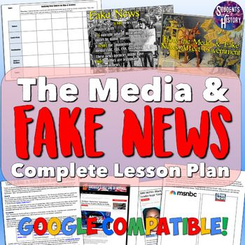 Fake News and the Media Lesson Plan