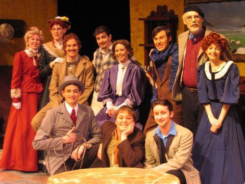 SMSU - Theatre Arts - Picasso at the Lapin Agile